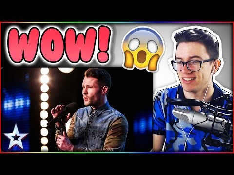 Golden boy Calum Scott hits the right note Britain's Got Talent Reaction (видео)