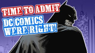 DC COMICS WERE RIGHT! Comic Book Industry Still In DENIAL
