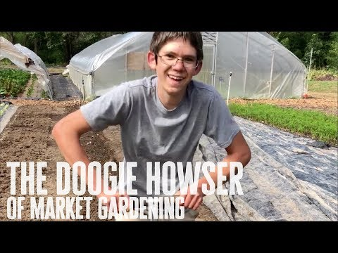 The Doogie Howser of Market Gardening!!!