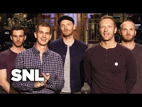 SNL Promo: Andrew Garfield and Coldplay