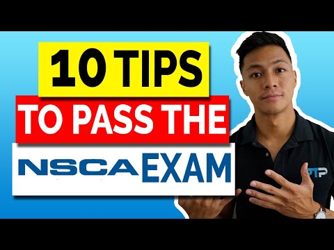 Top 10 Essential Tips to Pass the NSCA CPT Exam in 2021 - YouTube