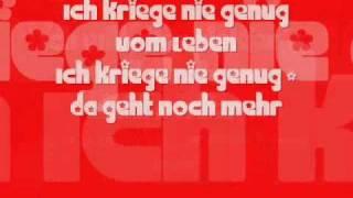 Nie Genug - Christina Stürmer lyrics