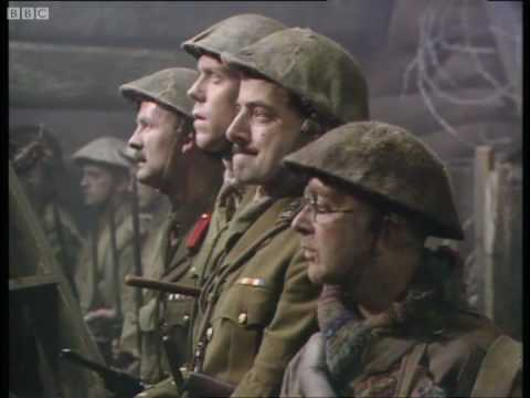 Blackadder Goes Forth final scene, and with Remembrance Sunday coming, it's even more poignant.