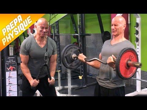 Les exercices sur la presse et les muscles obliques du ventre