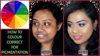 COLOUR CORRECTING FOR INDIAN/ASIAN DARK SKIN | FOR BEGINNERS
