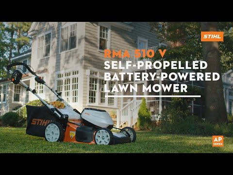 Stihl RMA 510 V 21 in. Self-Propelled in Philipsburg, Montana - Video 2
