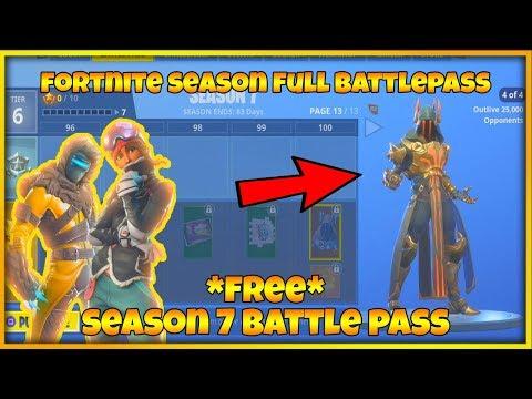 Fortnite Season 7 Battle Pass Gameplay Overview Malaysia Harmoni