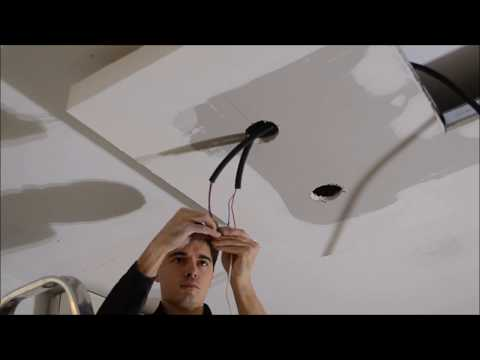 Comment installer spot encastrable LED plafond par Le Club LED
