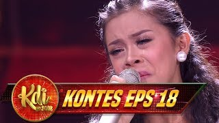 TOTALITAS TANPA BATAS!!! Amel Sampai Dimarahin Evi Masamba- Kontes KDI Eps 18 (29/8)
