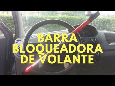 Barra antirrobo para carro, barra de bloqueo de timón para vehículo 2018