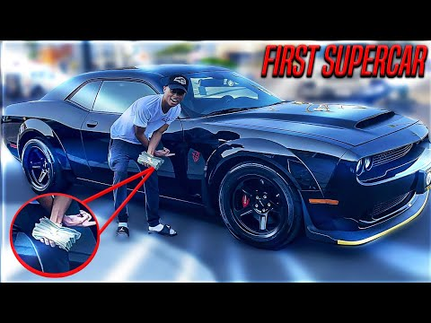 BUYING A DODGE DEMON AT AGE 21! *THE YOUNGEST EVER*
