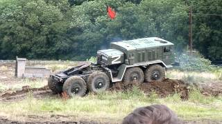 War and Peace Show 2012 Russian MAZ Heavy Truck