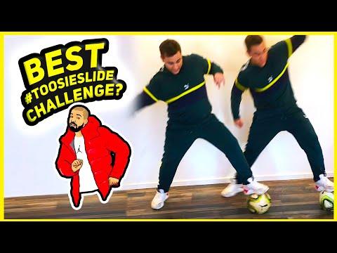 "Best Drake ""Toosie Slide Challenge"" Yet? 🕺⚽️"