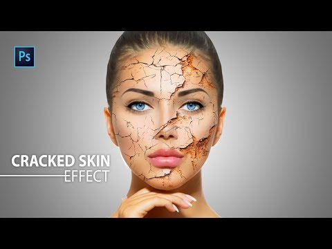 skin crack and peel photoshop tutorial
