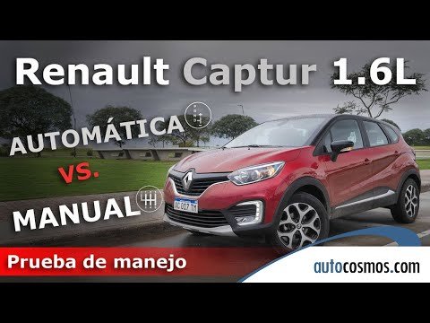 Test Renault Captur 1.6L MT y AT