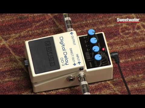 BOSS DD-3 Digital Delay Pedal Review – Sweetwater Sound