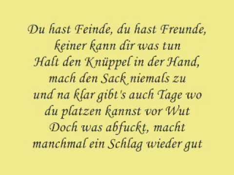 Krieg im Kopf - Chakuza (lyrics)