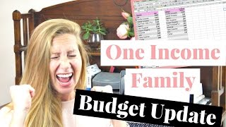 April 2017 One Income Family Budget Update | REAL NUMBERS!