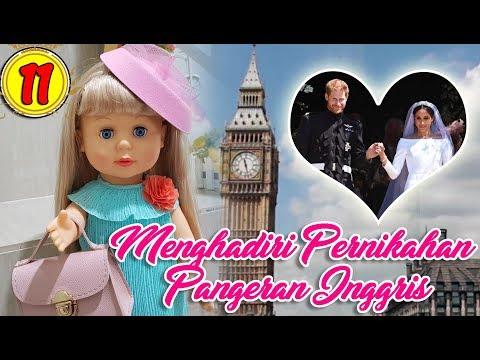 11 Menghadiri Pernikahan Pangeran Inggris - Boneka Walking Doll Cantik Lucu  -7L  5f7dd599b2