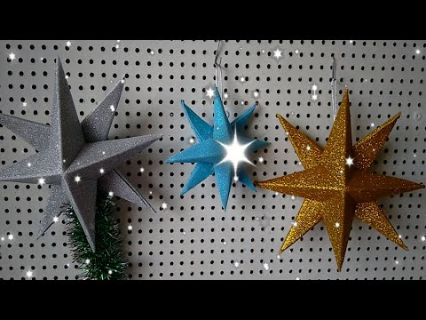 Estrela de Natal em E.V.A