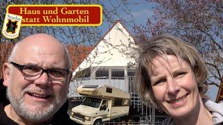 Statt Wohnmobil mal Haus und Garten, Balkon Zaun und mehr....