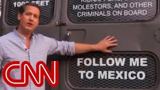 Georgia candidate's 'deportation bus': Follow me to Mexico - Video Youtube