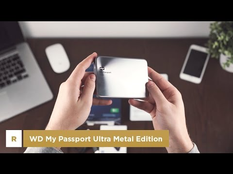 Review | Externe Festplatte WD My Passport Ultra Metal Edition