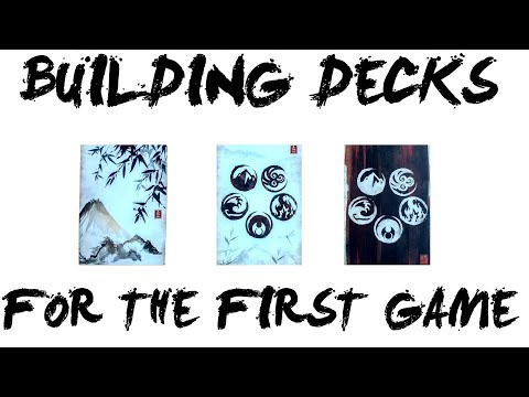 Building decks for your first game of Legend of the Five Rings (L5R) LCG – Imperial Chronicle