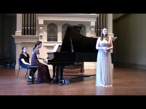 Masters recital, Peabody Conservatory