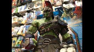 Gladiator Hulk Marvel Select Thor Ragnarok unboxing video!