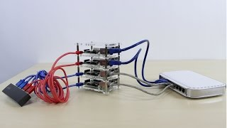 Raspberry Pi B+ Cluster (Super Computer) Part 2