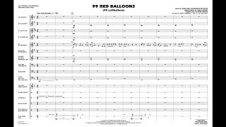 99 Red Balloons arranged by Matt Conaway