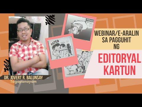 Webinar/Online-Lesson in Editorial Cartooning