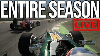 DEFINITELY NOT Racing Through An Entire Season Of F1 2012