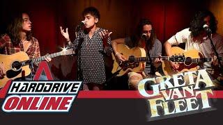 Gambar cover GRETA VAN FLEET - BLACK SMOKE RISING acoustic performance