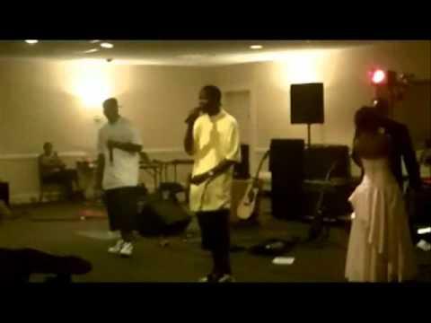 L.T. Goon Life & JBrid Muzik Performing At Mikki High's Sweet 16 In Montgomery, AL. 4/23/2011