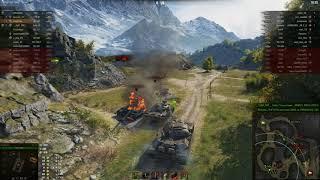 Объект 140, Перевал, Стандартный бой