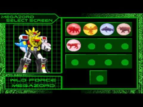 power rangers wild force gba all zords