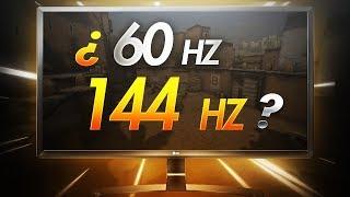 ¿Ventaja competitiva? | Diferencias entre MONITORES: 60Hz vs 144Hz vs 240Hz