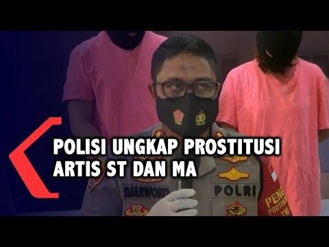 keterangan polisi soal prostitusi artis st dan ma muncikari jadi tersangka