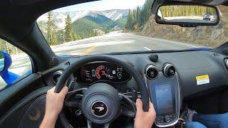 [WR Magazine] 2020 McLaren 570S Spider - POV Test Drive (Binaural Audio)