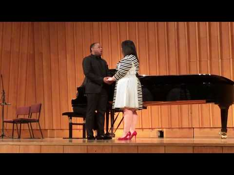 Duet from the opera Lucia di Lammermoor