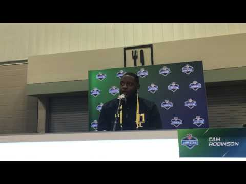 Cam Robinson on why he's best left tackle in 2017 NFL draft