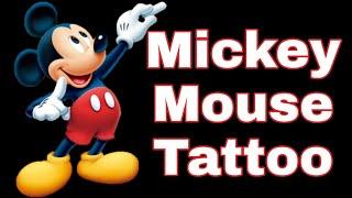 Mickey Mouse Tattoo | Disney | By ATTA
