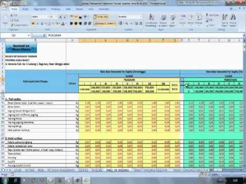 Tutorial Aplikasi Software Ketahanan Pangan