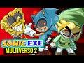 Sonic Exe No Multiverso De Zelda E 7 Jogos