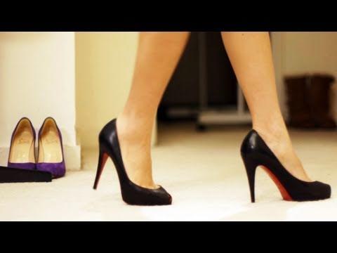 Marchez avec classe avec des souliers à talons hauts