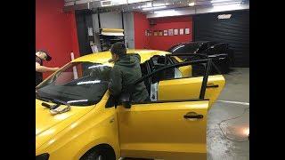 Профессиональная обклейка авто такси.