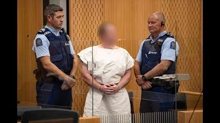 New Zealand mosque attack suspect charged with murder - VIDEO