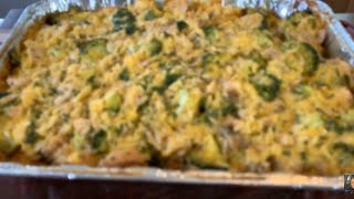 How To Make Cheesy Chicken Broccoli And Rice Casserole (Easy)